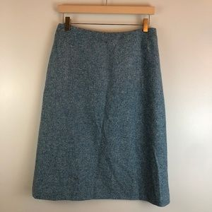 Brooks Brothers A-line Wool Silk Blend Size 6